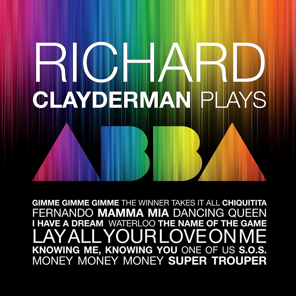 """Richard Clayderman Plays Abba"" album cover"